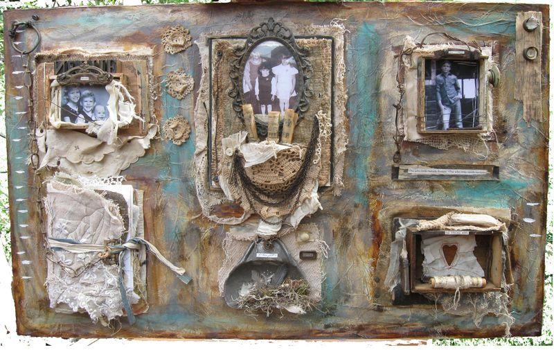 Large art piece copy