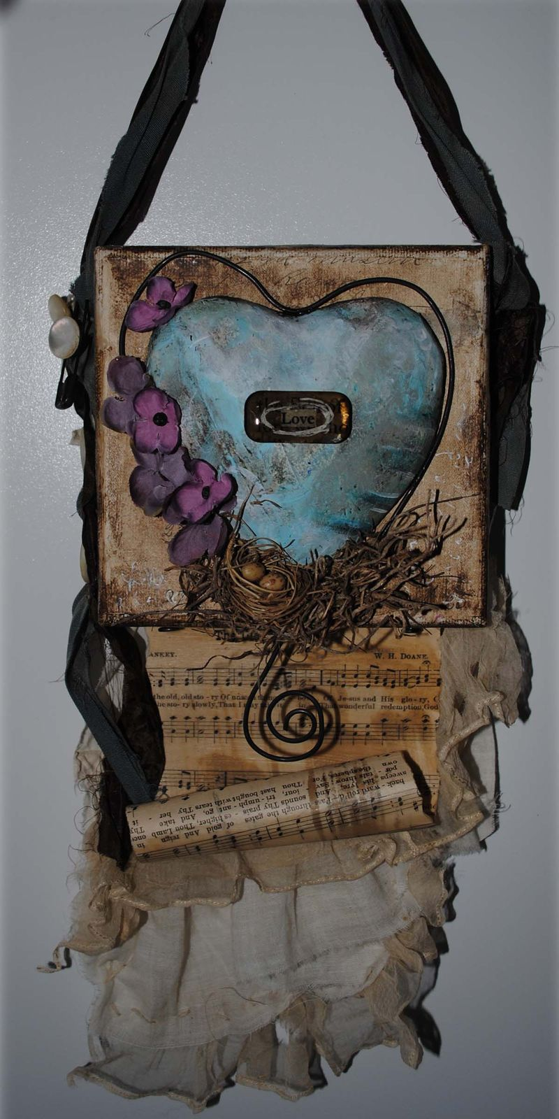 Love wall hanging 7