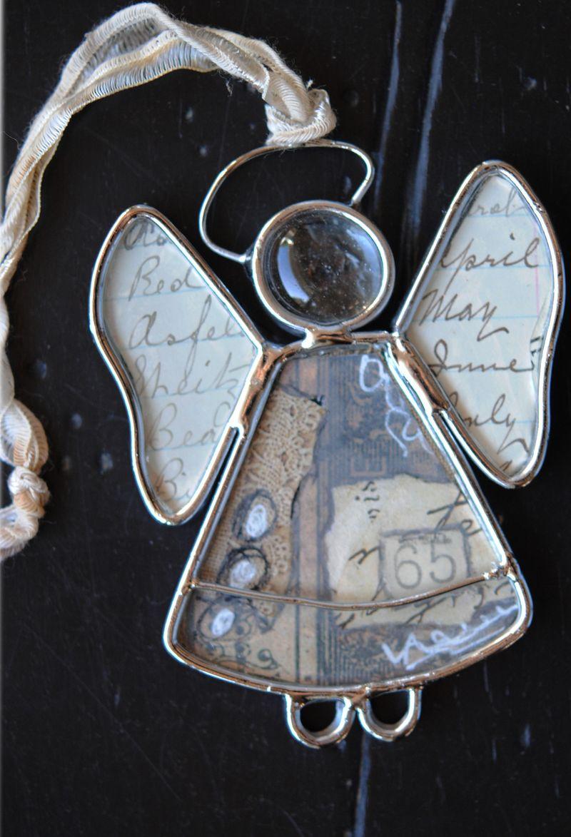 Xmas ornament angel 1