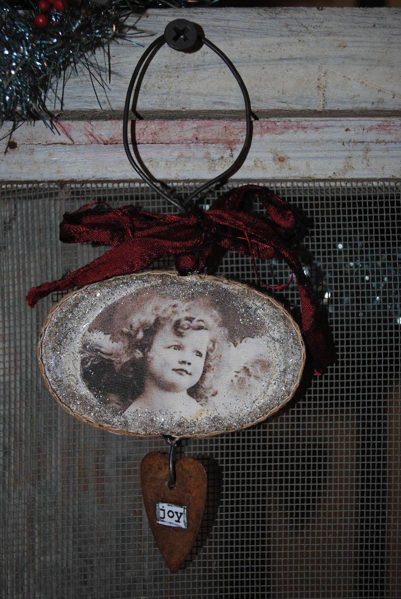 Joy ornament 2