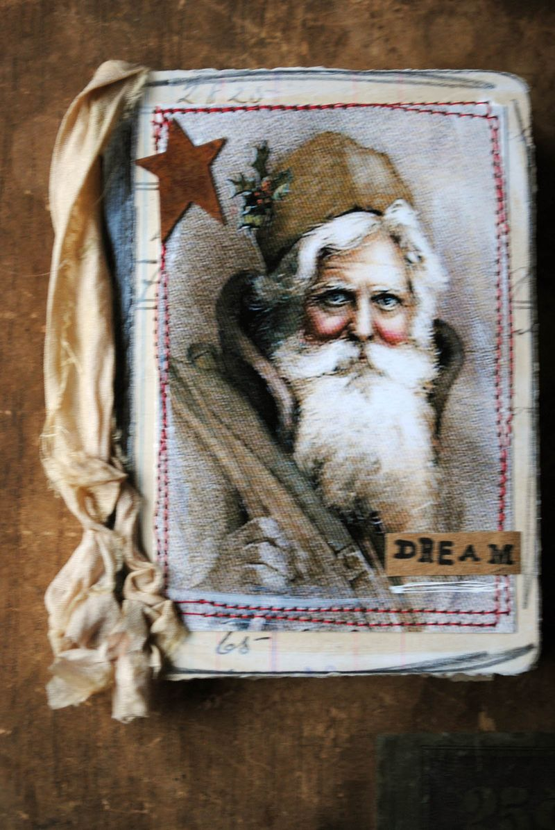 Santa mini journal 2