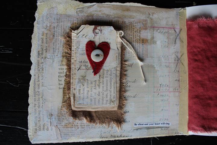 Home journal inside cover