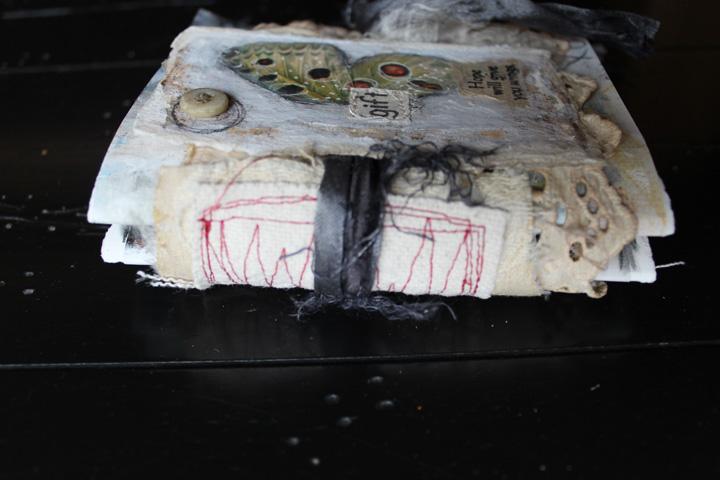 Gift mini journal spine