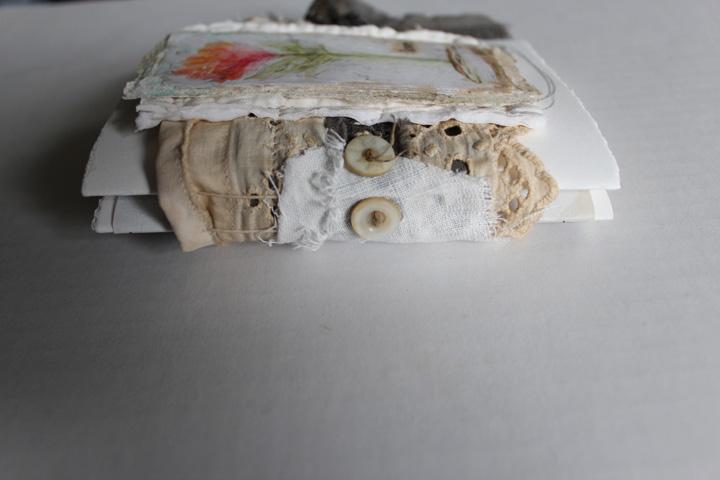 Love mini journal spine