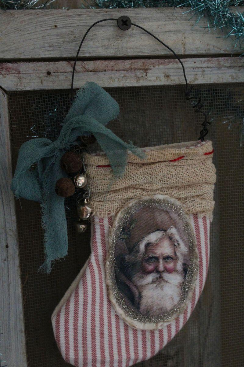 Santa stocking full view 2012