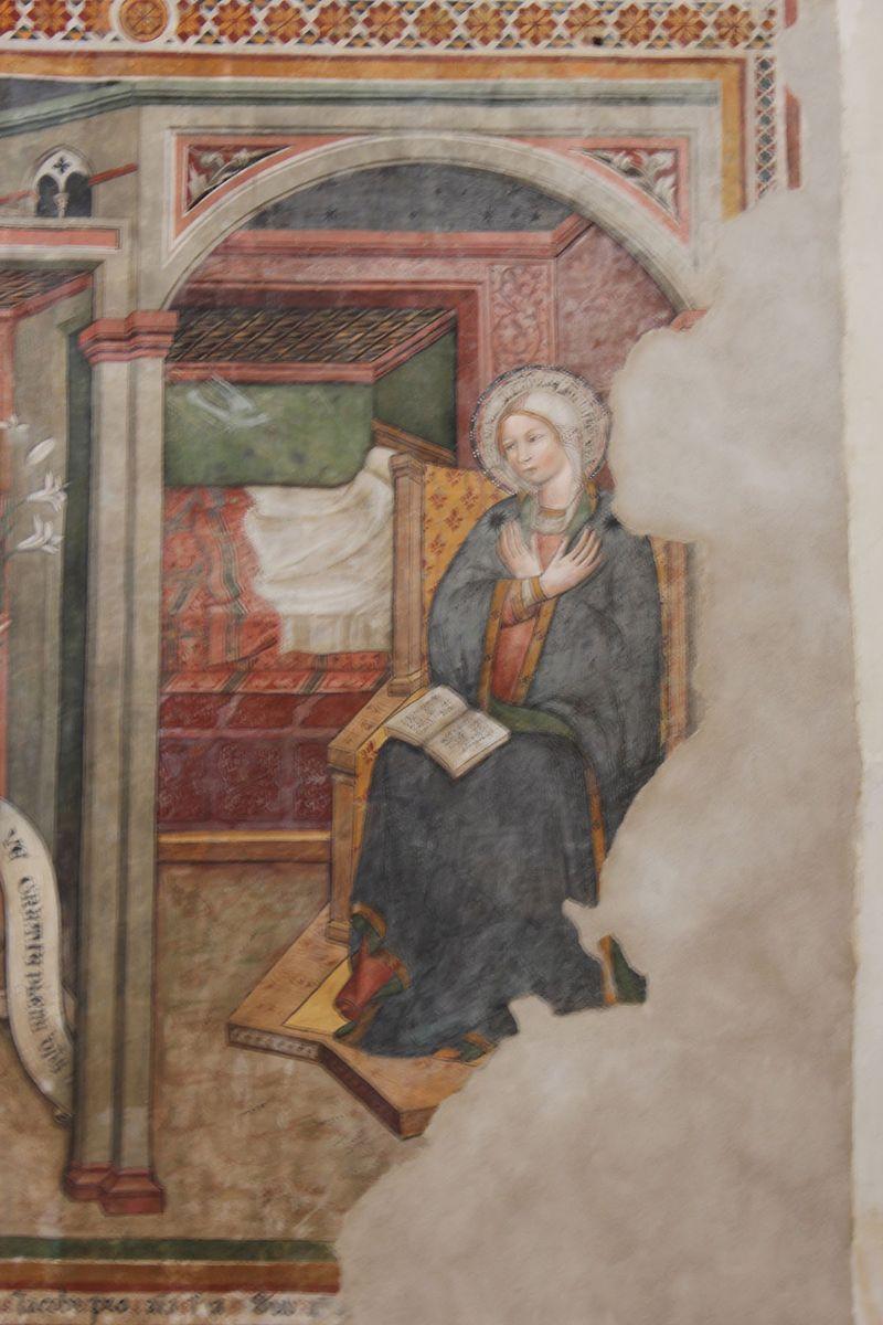 Fresco in Orvieto