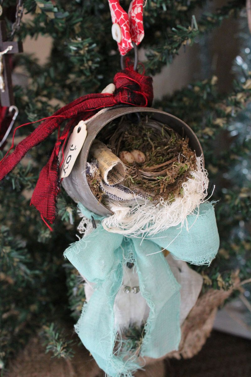 Joy nest ornament 2012