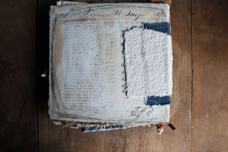 Love handmade book back cover
