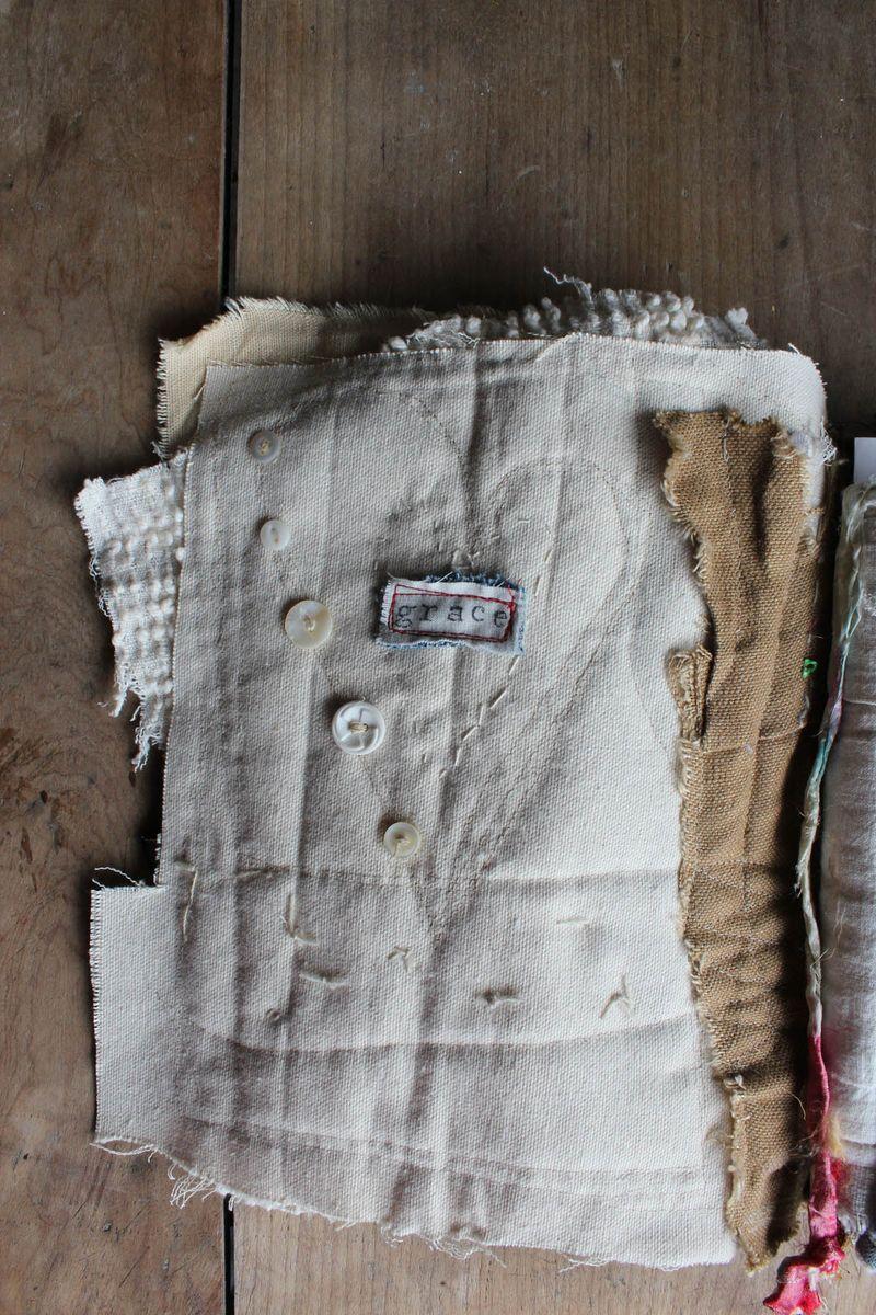 Love handmade book inside cover