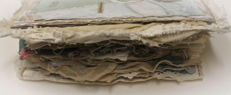 Cherish fabric book sideview