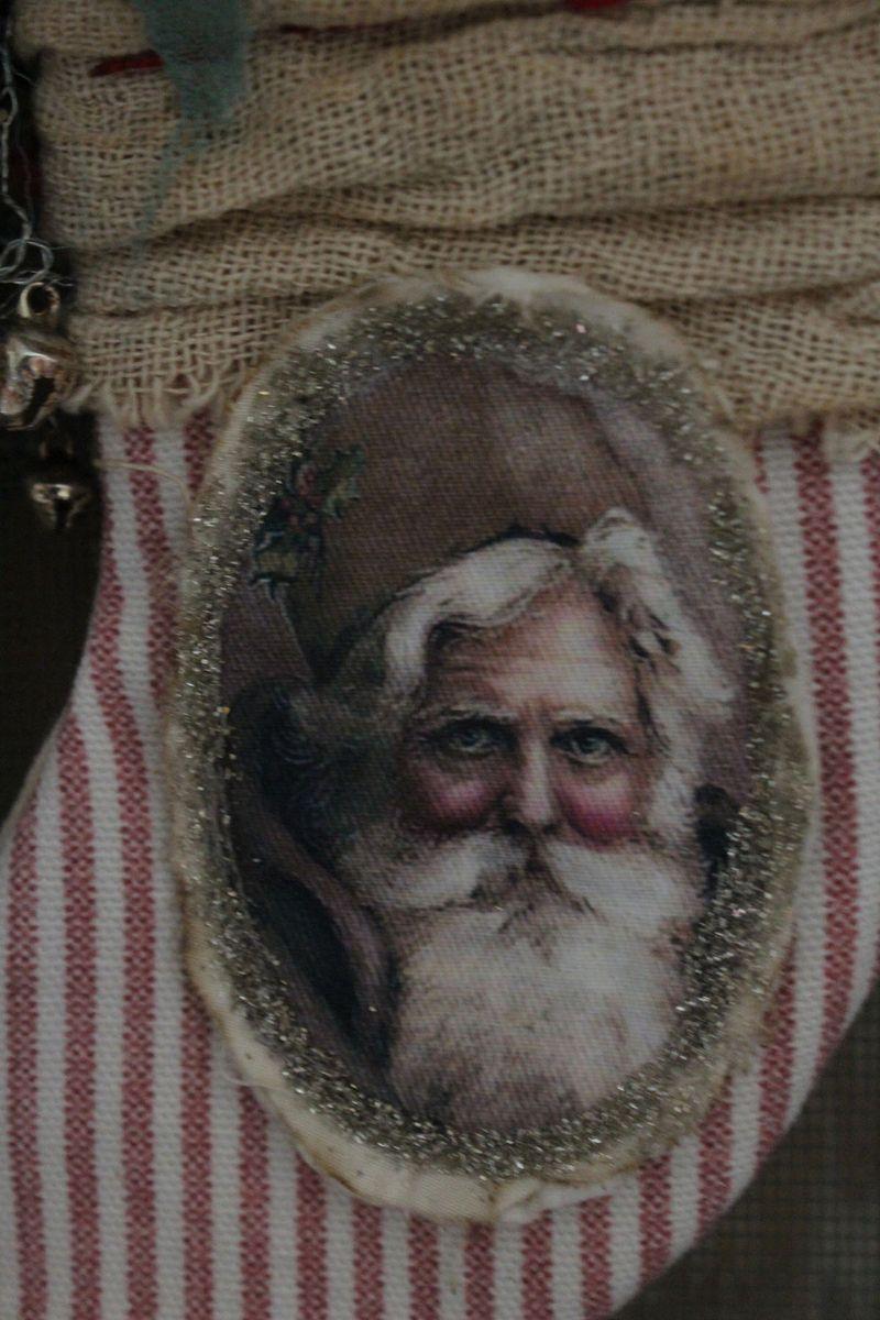 Santa stocking close up 2012