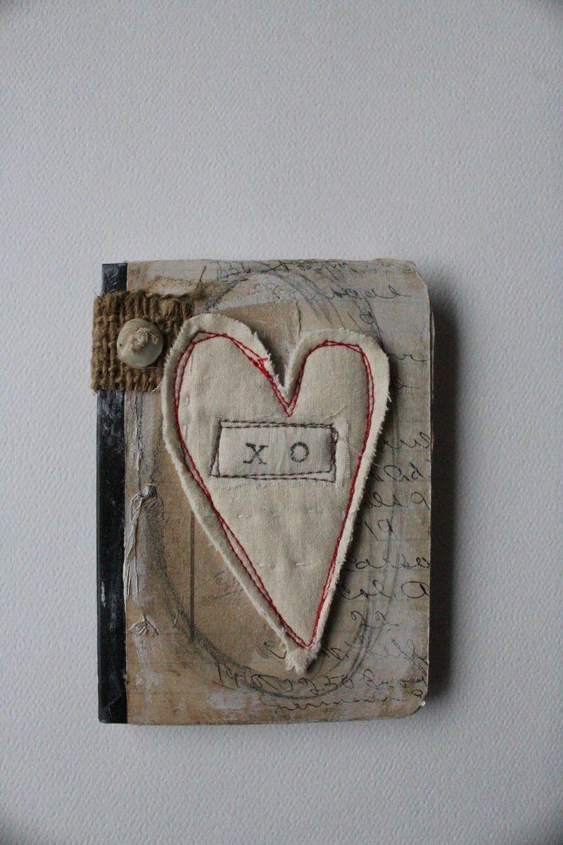 Xo mini journal heart