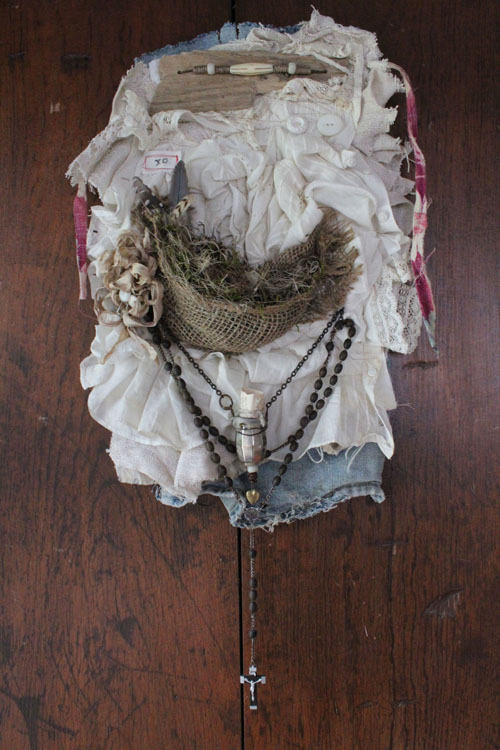 Tattered and timeworn banner 2