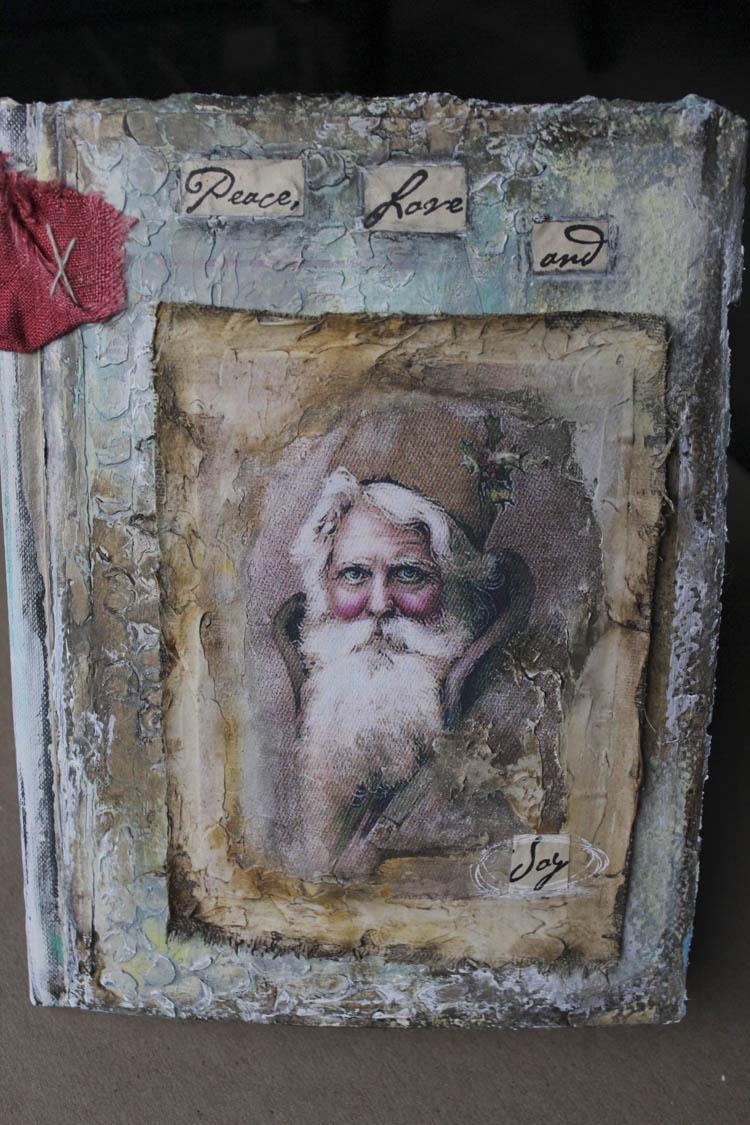 Santa joy book front cover