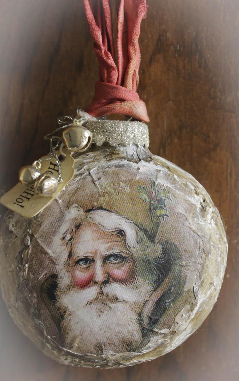 Santa ornament 2013