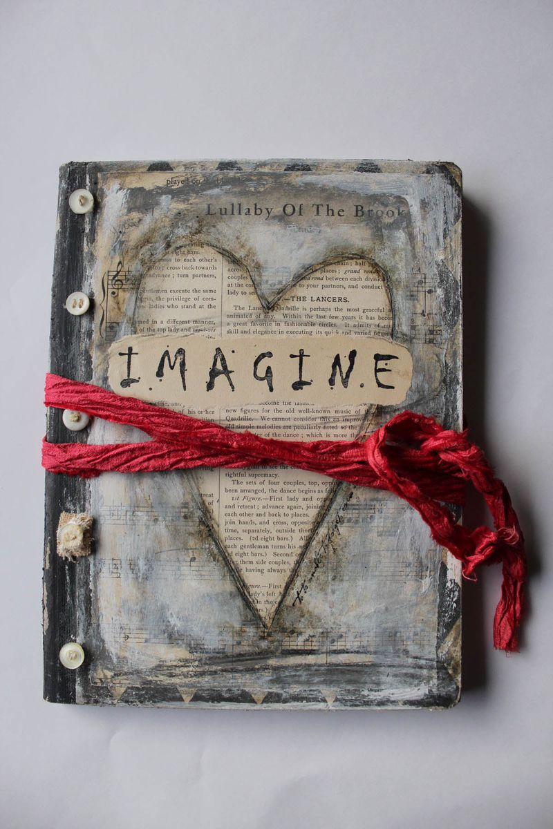 Imagine book for magazine