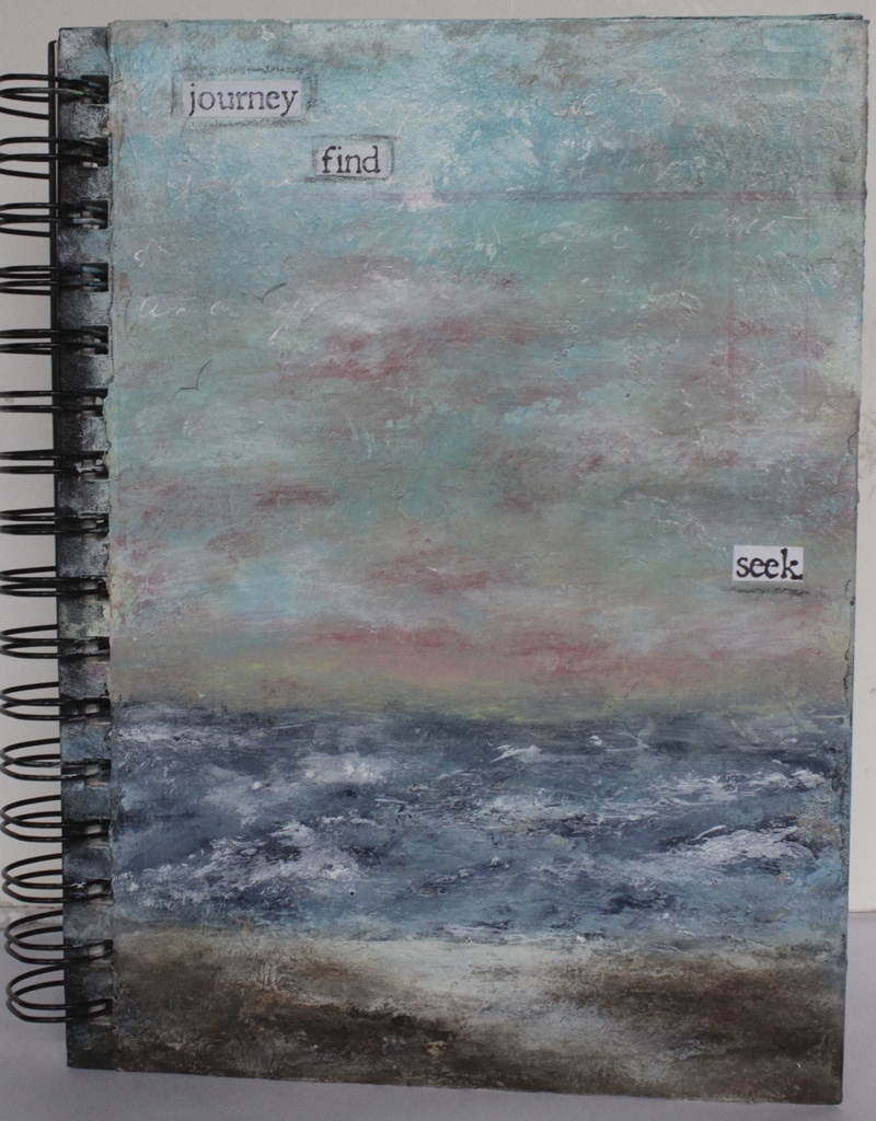 Journey, find and seek sketch book