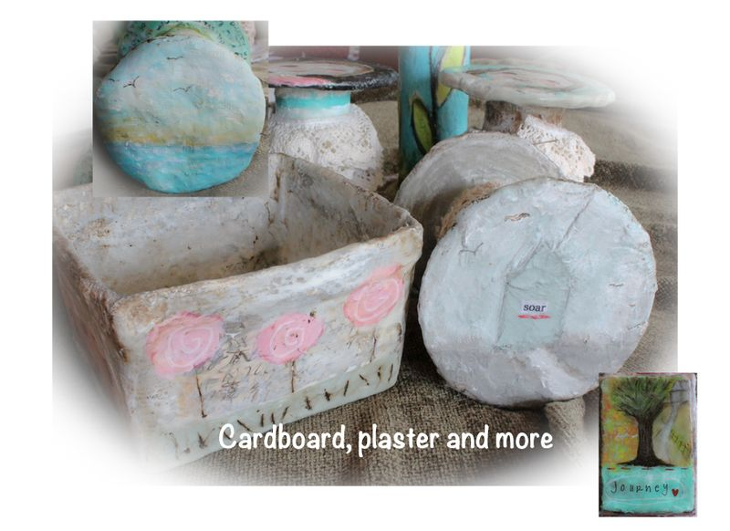 Cardboard, plaster and more image