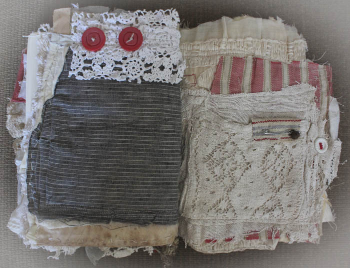 Santa fabric book pg 4