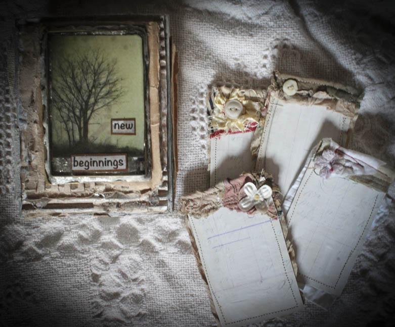 New beginnings box w cards