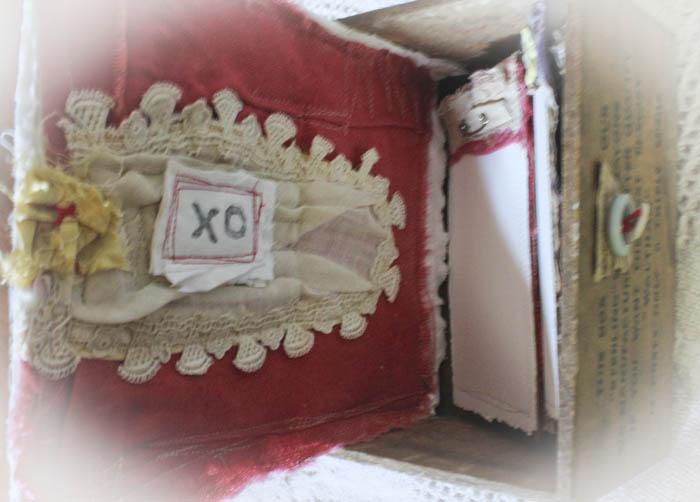 Journey box opened
