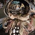 Xo metal bird ornament 2012
