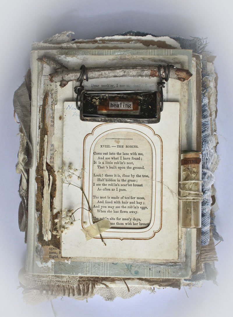 Pieces…altered books fc AIY class
