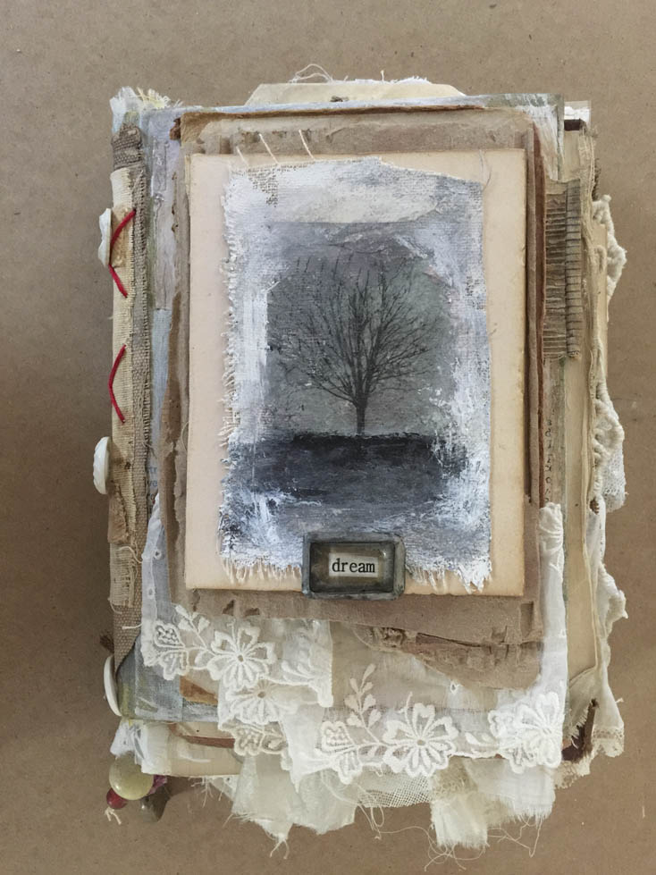 Dream altered book