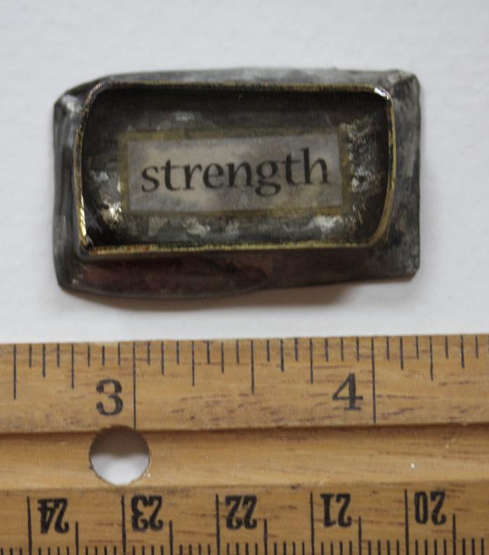 Strength handmade bezel