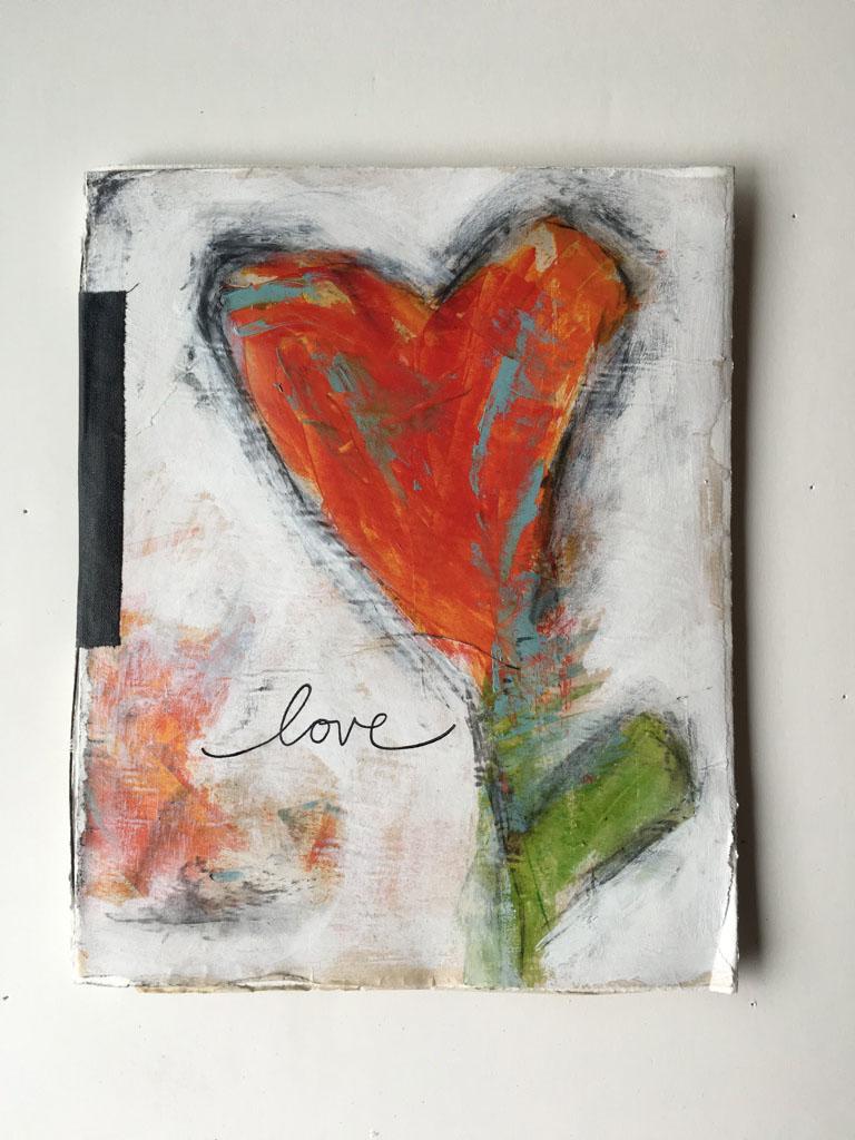 Love large book