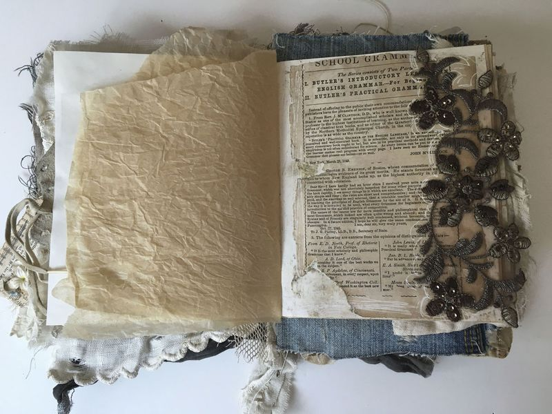 Angel Fabric book page 3