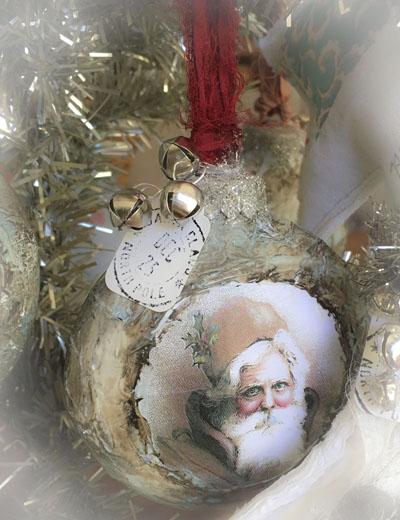 Santa class ornament 2