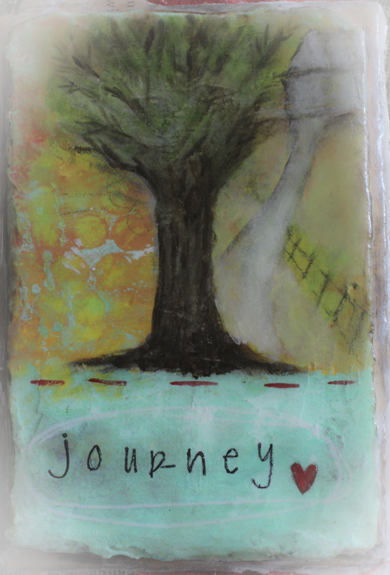 Journey plaster cover