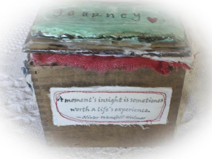 Journey box front view