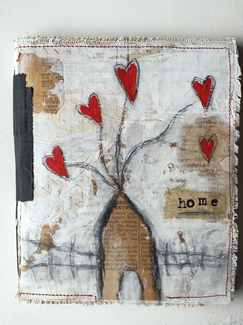 Home blank journal
