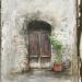 Italy door painting