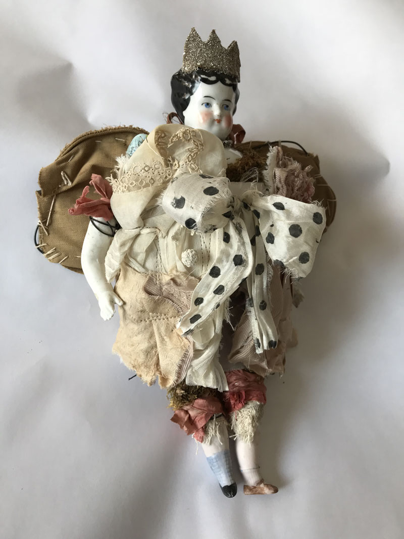 Wings journey princess doll side