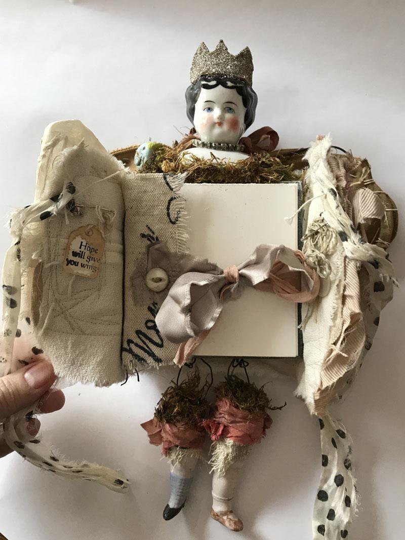 Wings journey princess doll open