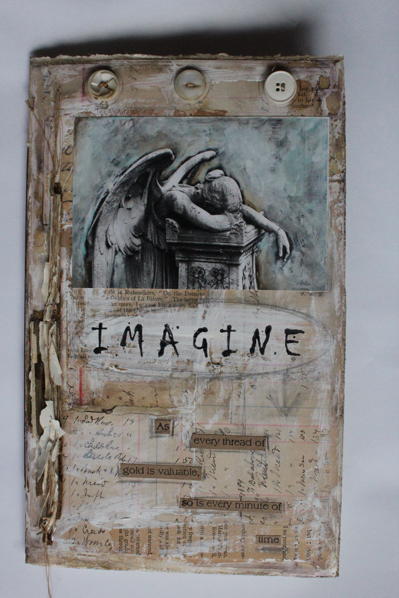 Imagine fc handmade book