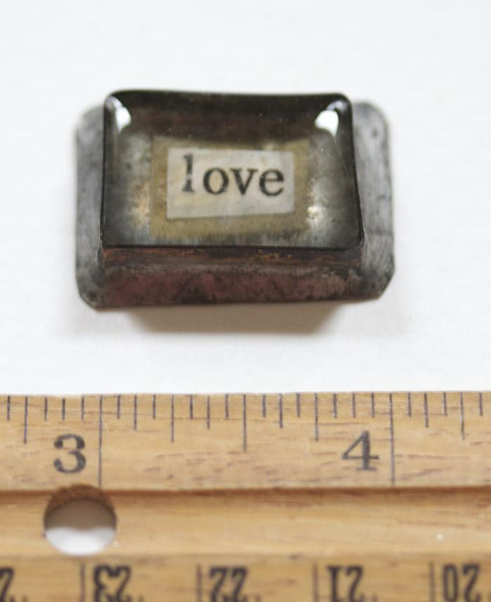 Love handmade bezel