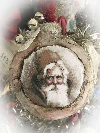 Santa class ornament 3