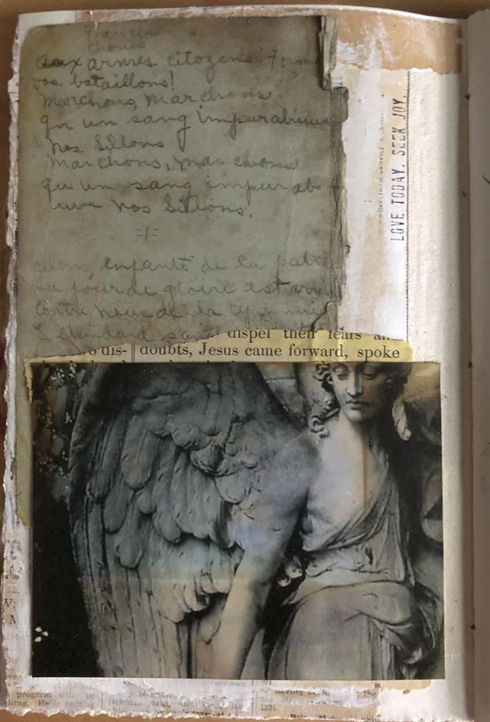 Paris art book page 2