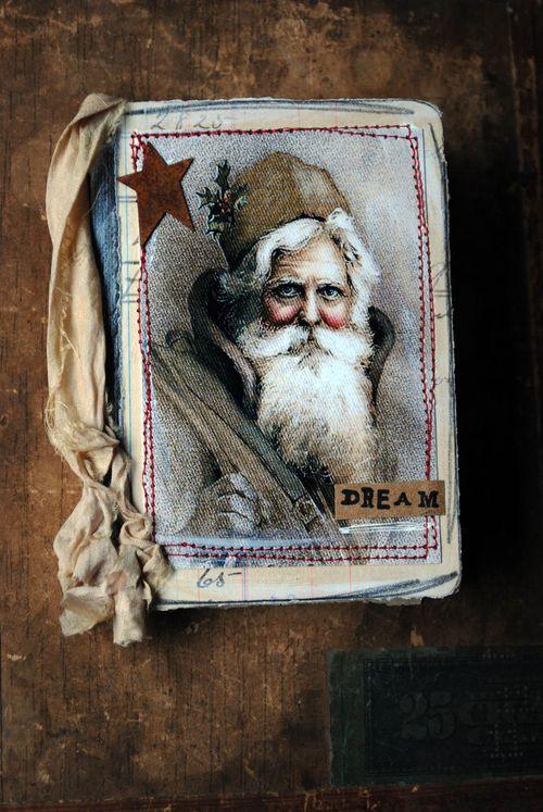 Santa mini journal
