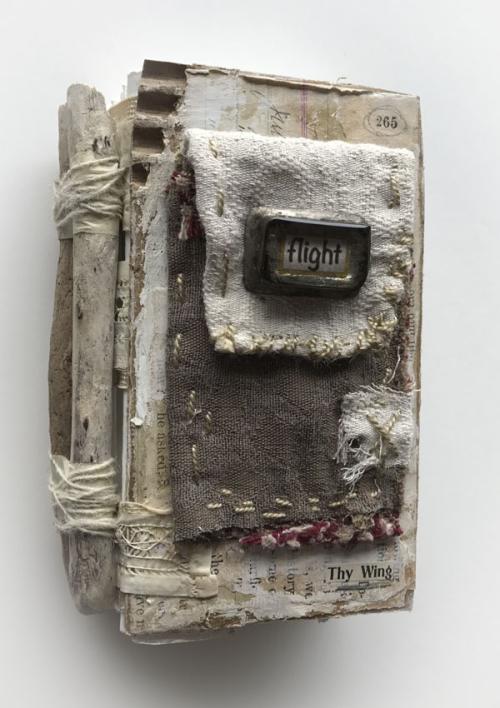 Flight pocket book spine
