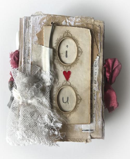 I love u mini book