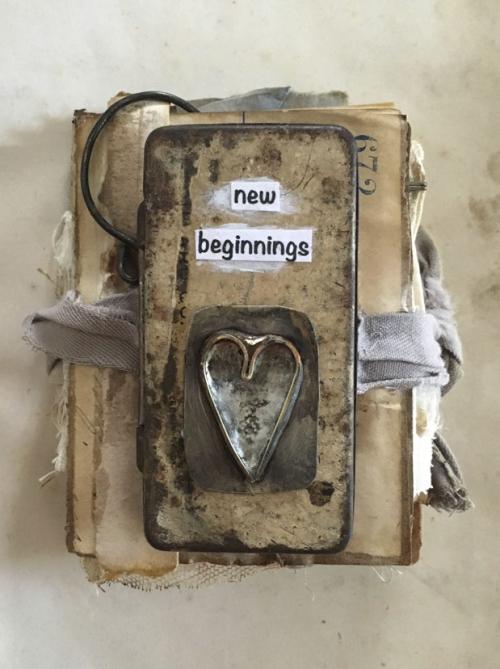 New beginnings mini book